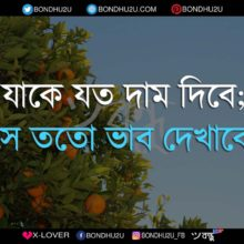 Dam Dekhano Sms Wallpaper Bengali Quotes