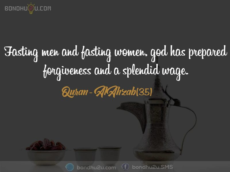 Fasting Men and Fasting Woman